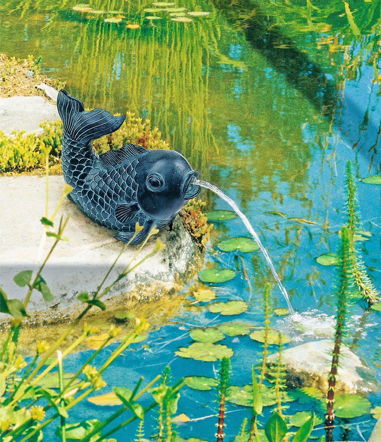 Kala suihkulähdepatsas